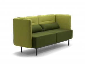 Calesita Sofa Dialog 2er niedrig grün