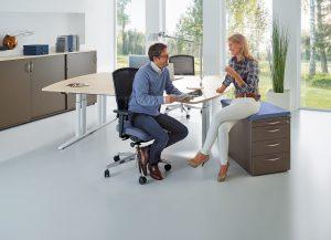 Produkte Schreibtischsysteme All in one fm55 Kombi