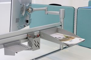Schreibtischsysteme Zubehör Monitorhalterung
