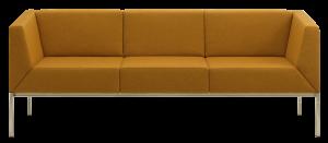Calesita Sofa Spica frontal orange