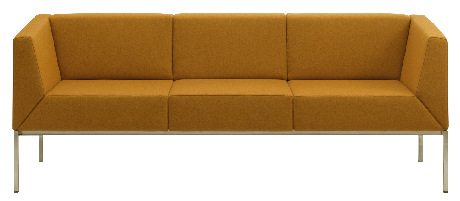 Calesita Sofa Spica frontal orange