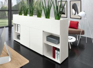 Raumteiler Kunstpflanzen Büropflanzen