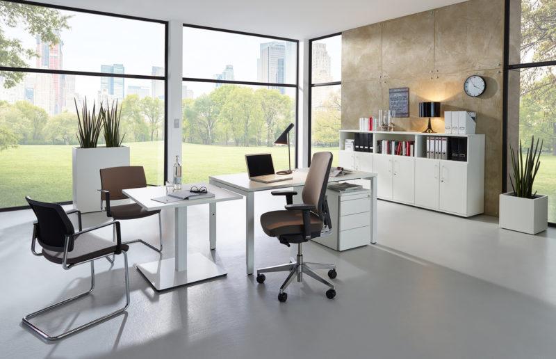 Produkte Schreibtischsysteme All in one fm33 Milieu