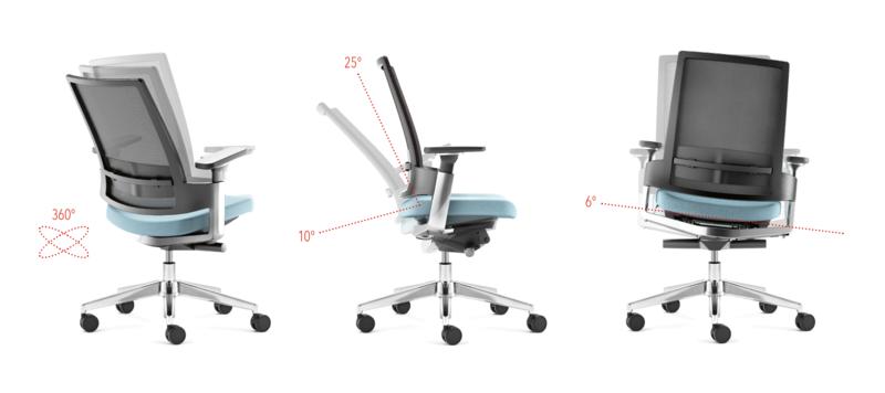 Bürodrehstuhl LeonX 3.6 Informationen