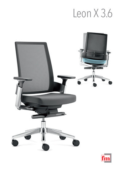 fm Büromöbel Produktkatalog - leon X 3.6