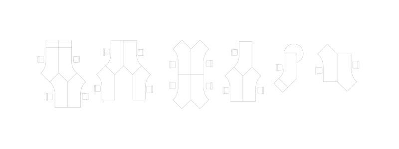 Produkte Schreibtischsysteme All in one fm69 Winkel Möglichkeiten