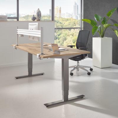 Sitztisch Stehtisch all in one move 2.0 Milieubild dunkel