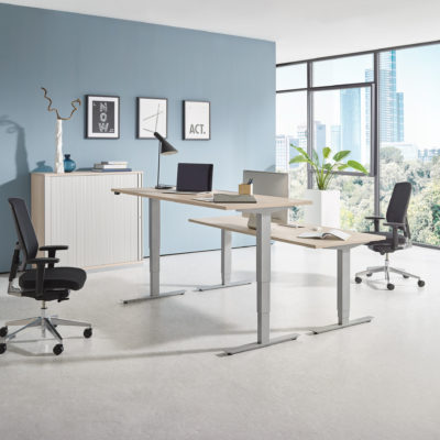 Sitztisch Stehtisch all in one move 2.0 Milieuansicht