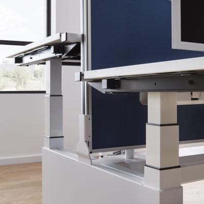 Sitztisch Stehtisch all in one Twinbase Detailansicht