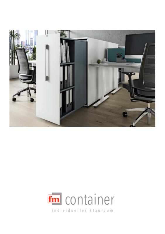 fm Büromöbel Container