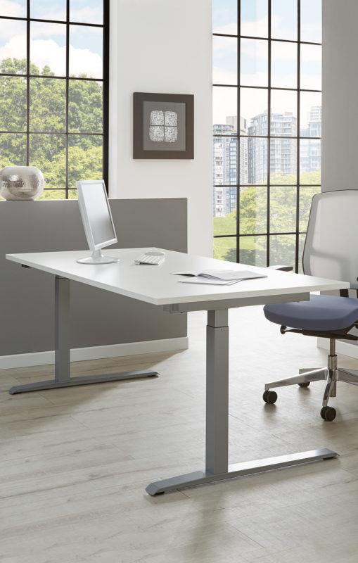 Schreibtischsysteme Einzeltisch