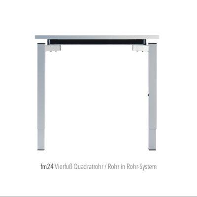 Produkte Schreibtischsysteme Gestellübersicht fm24