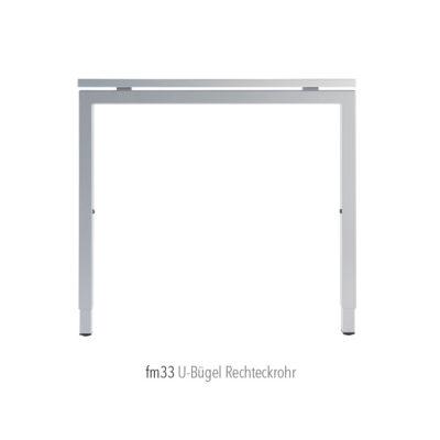 Produkte Schreibtischsysteme Gestellübersicht fm33