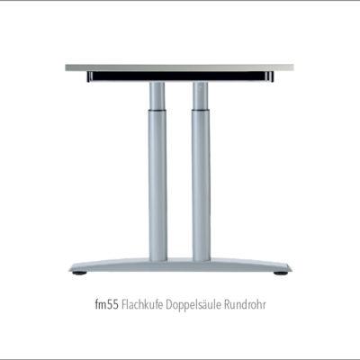 Produkte Schreibtischsysteme Gestellübersicht fm55