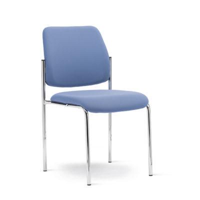 Calesita Stuhl Livorno Vierbein blau schräg