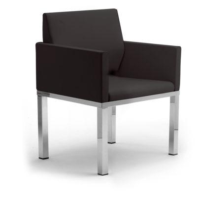 Calesita Sofa Status Loungesofa 2er schwarz
