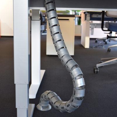 Schreibtischsysteme Zubehör Kabelkette rund