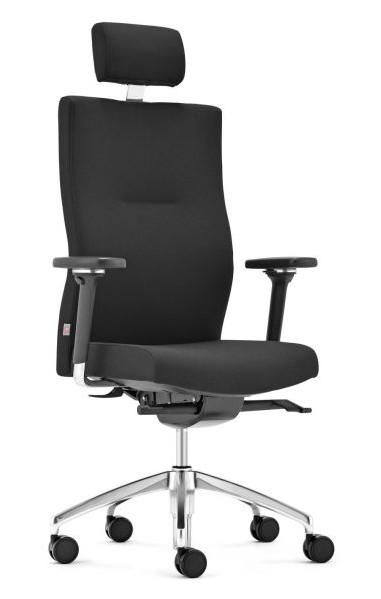 Bürodrehstuhl Startup2 schräg schwarz