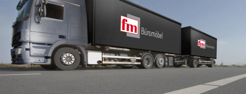 fm Büromöbel LKW