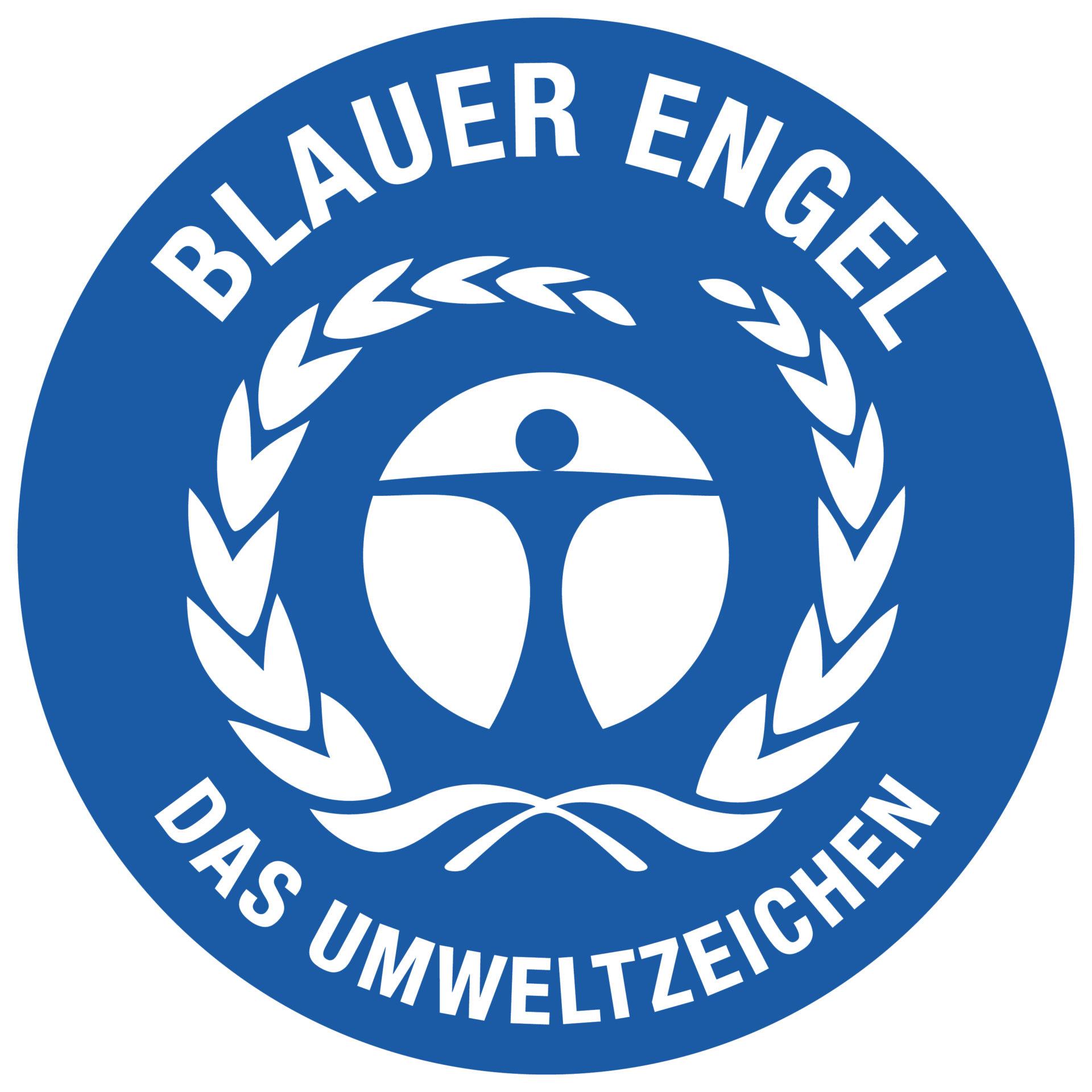 Blauer Engel Logo Detaillierung