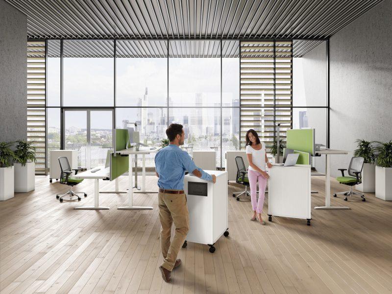 Rollcontainer Ansicht Büro