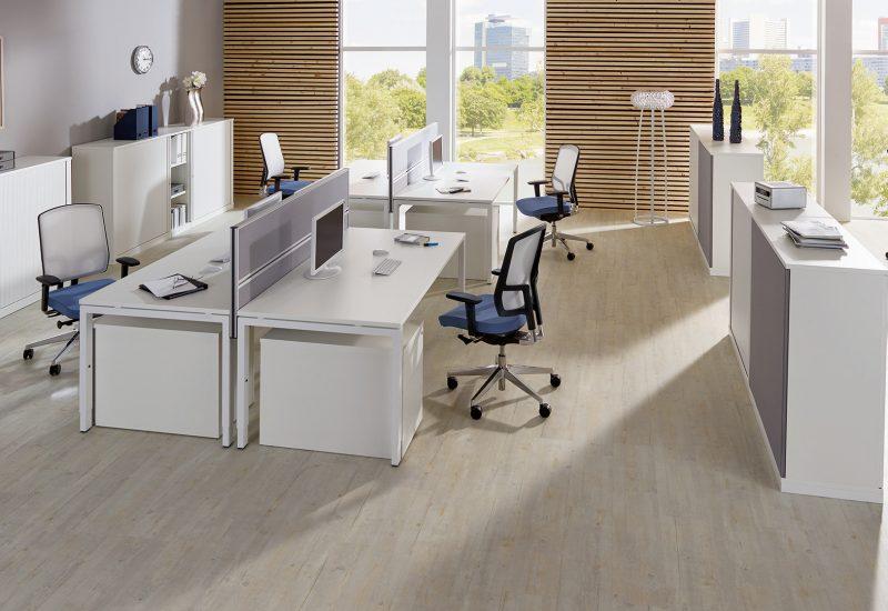 fm33 Kombi Schreibtisch Bürodrehstuhl