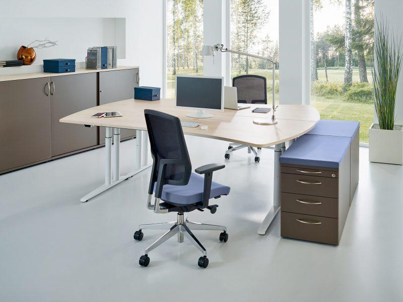Bürodrehstuhl NetGo fm55 Kombi